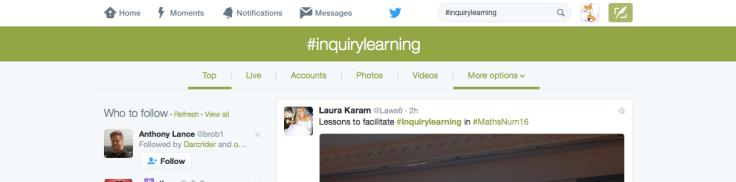 Twitter hash inquiry